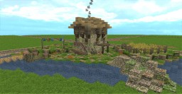 Small Medieval Cottage (Conquest Reforged) Minecraft Map & Project