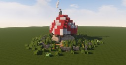 Small Smurf Village Minecraft Map & Project
