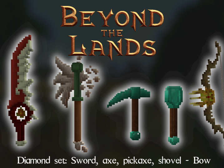 Popular Texture Pack : Beyond the Lands - Fancy weapons