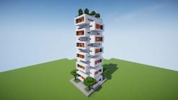 Modern Apartment Building with a modular design Minecraft