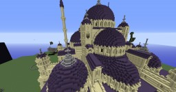 Blue (purple) mosque of istanbul Minecraft Map & Project