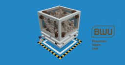 BWU - An Unstable Self-replicating Modular Machine Minecraft Map & Project