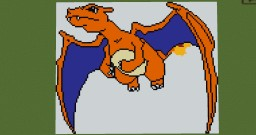 Flying Charizard Minecraft Map & Project