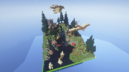 "64x64 plot ""Eagle Hill"" Minecraft Map & Project"