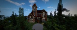 detailed Victorian Mansion Minecraft Map & Project