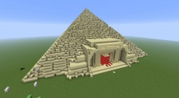 Egyptian Pyramid Minecraft Map & Project
