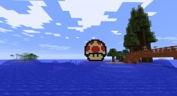Toad Pixel Art Minecraft Map & Project