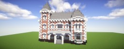 [BuildingGuide] Survivalsized Wilhelminian Brick and Quarz Mansion