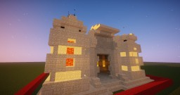 Desert/Egyptian Temple Minecraft Map & Project