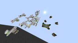 Skywars 4 Player Bonehead Minecraft Map & Project