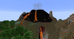 Realistic Volcano (1.14) Minecraft Map & Project
