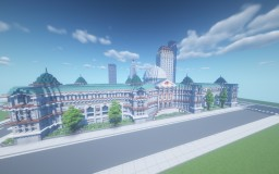 Library - Built With Jeffersonian Architecture Minecraft Map & Project