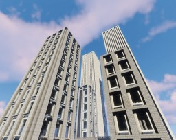 Minecraft 1.12.2 City project Minecraft Map & Project