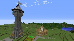 Mediaval Tower Minecraft Map & Project