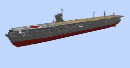 IJN Soryu 1:1 Scale Minecraft Map & Project