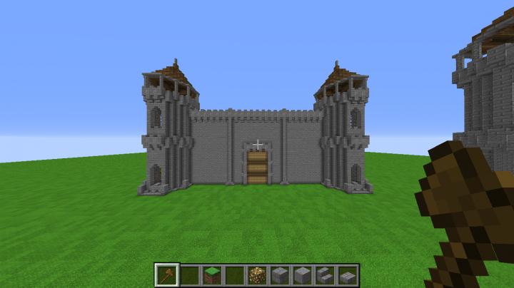 My Hyrule Castle Minecraft Map
