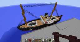 RMS Hamburg Minecraft Map & Project
