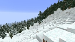 winter mountains Minecraft Map & Project