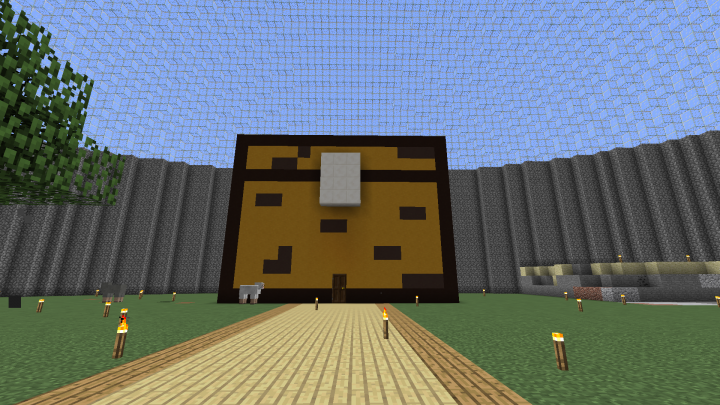 Chest Storage House Minecraft Map