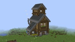 Small Rustic House Minecraft Map & Project