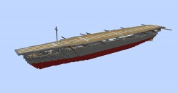 IJN Hosho 1:1 Scale Minecraft