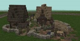 Small Medieval Village (Conquest Reforged) Minecraft