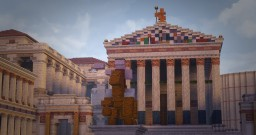 The forum of Julius Caesar - Conquest Reforged Minecraft Map & Project