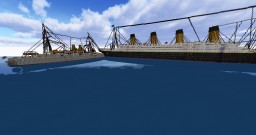 Collision in the Solent Minecraft Map & Project