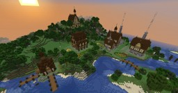 Remote Settlement Minecraft Map & Project