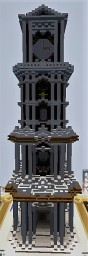 Big Quartz Tower Minecraft Map & Project
