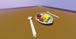 Kitchen Series - Ep: 1 / Mashed potatoes with egg and tomato! Minecraft Map & Project