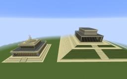 Moscow Pantheons (Projects of 1953)   Московские Пантеоны (Проекты 1953-го года) Minecraft Map & Project