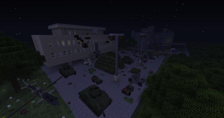 A Military quarantine hospital