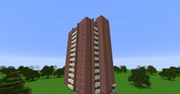 "Typical residential building series II-67 ""Moskvoretskaya""/Типовой жилой дом серии II-67 «Москворецкая» Minecraft Map & Project"