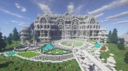 Nature Mansion Minecraft Map & Project