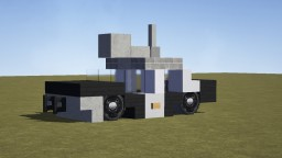 """Blues Brothers """"Bluesmobile"""" Minecraft Map & Project"""