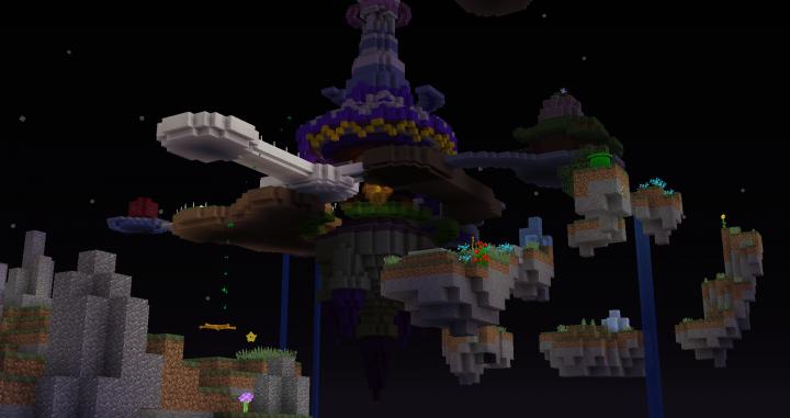 Map Super Mario Galaxy Maker [1 13 1/1 13 2] Minecraft Mod