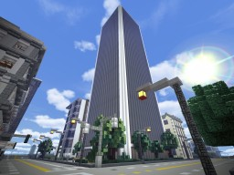 Sirius Trade Center /full interior Minecraft Map & Project