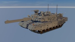 10:1 scale Leopard 2 A4 new armor kit Minecraft Map & Project