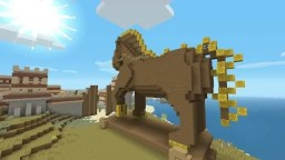 Minecraft Greek-Mythology Mashup Pack Map Port Minecraft