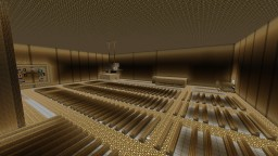 gold ufo city Minecraft Map & Project