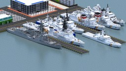 Destroyer class HQ  - 117 Da Nang City ft new coast guard ship Minecraft Map & Project