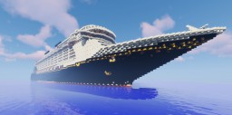 Disney Fantasy - 1.25:1 Scale Minecraft Map & Project