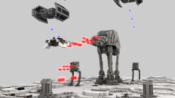 Star Wars | The Battle of Hoth | [2:1] Diorama Minecraft Map & Project