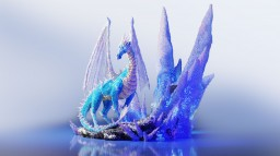 Ice Dragon Minecraft