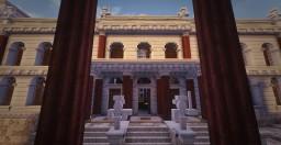 Basilica of Constantine & Maxentius. Conquest Reforged. Minecraft