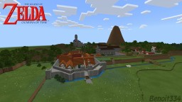 The Legend Zelda Ocarina Of Time Minecraft Map & Project