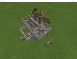 Automated Puzzle Dispenser Minecraft Map & Project