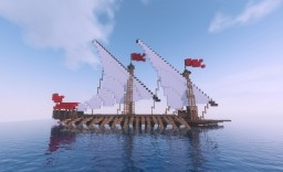 Venetian Galley [Updated] Minecraft Map & Project