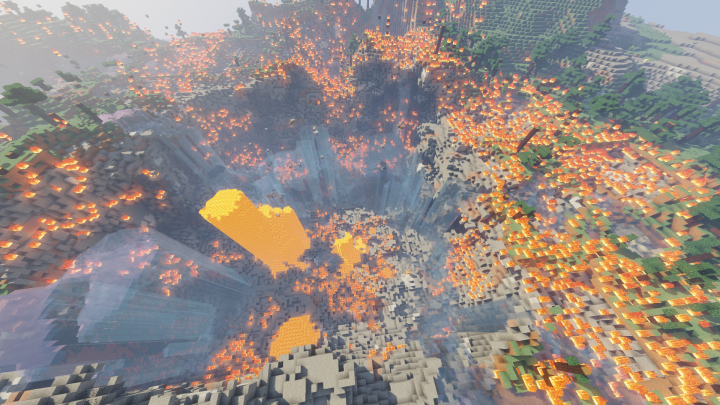 The aftermath of a NUKE!!